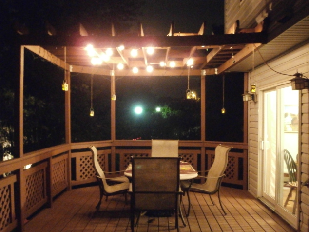 Pergola at Night